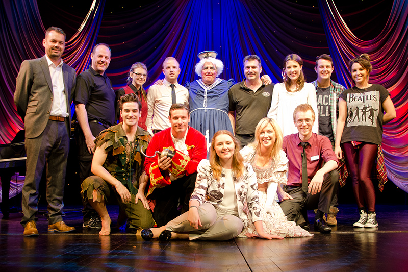 Cast and The Playhouse team