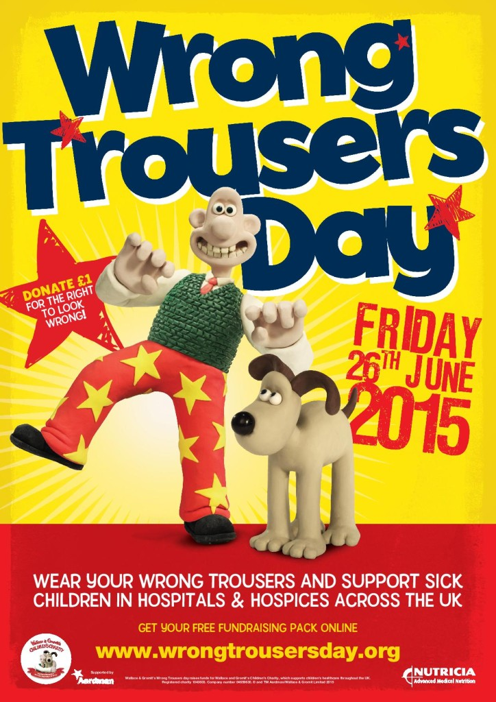 Wrong Trousers Day 2015 Poster