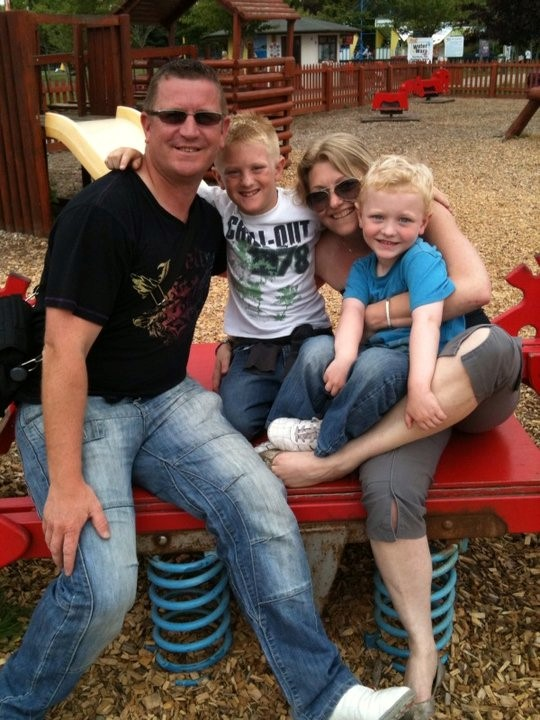 Mandy Jones & family