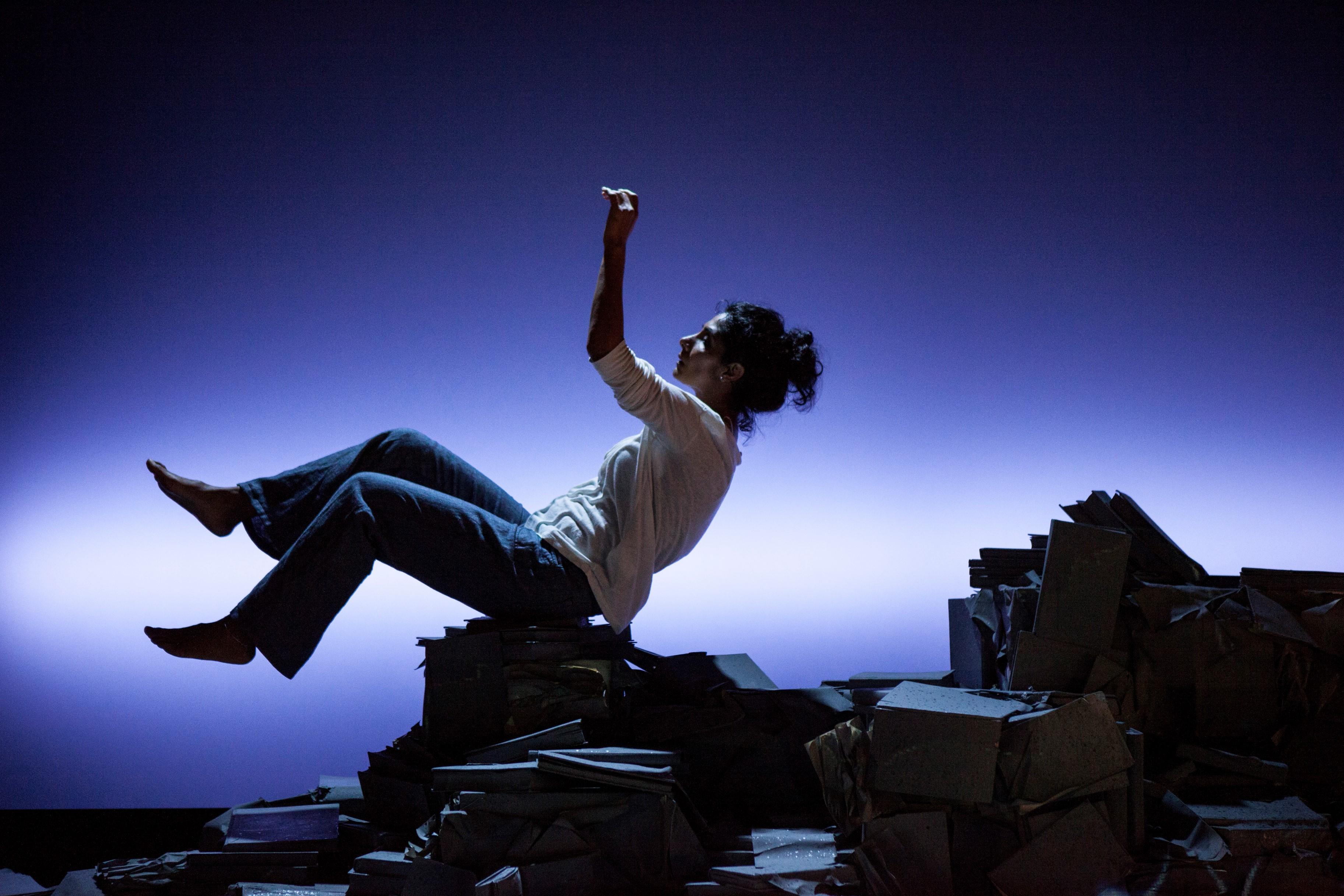 Balvinder Sopal in Transport Theatre's The Edge Credit Zbigniew Kotkiewicz