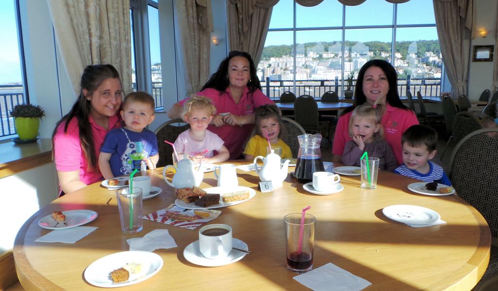 Little starz nursery at Grand Pier's Macmillan Coffee morning