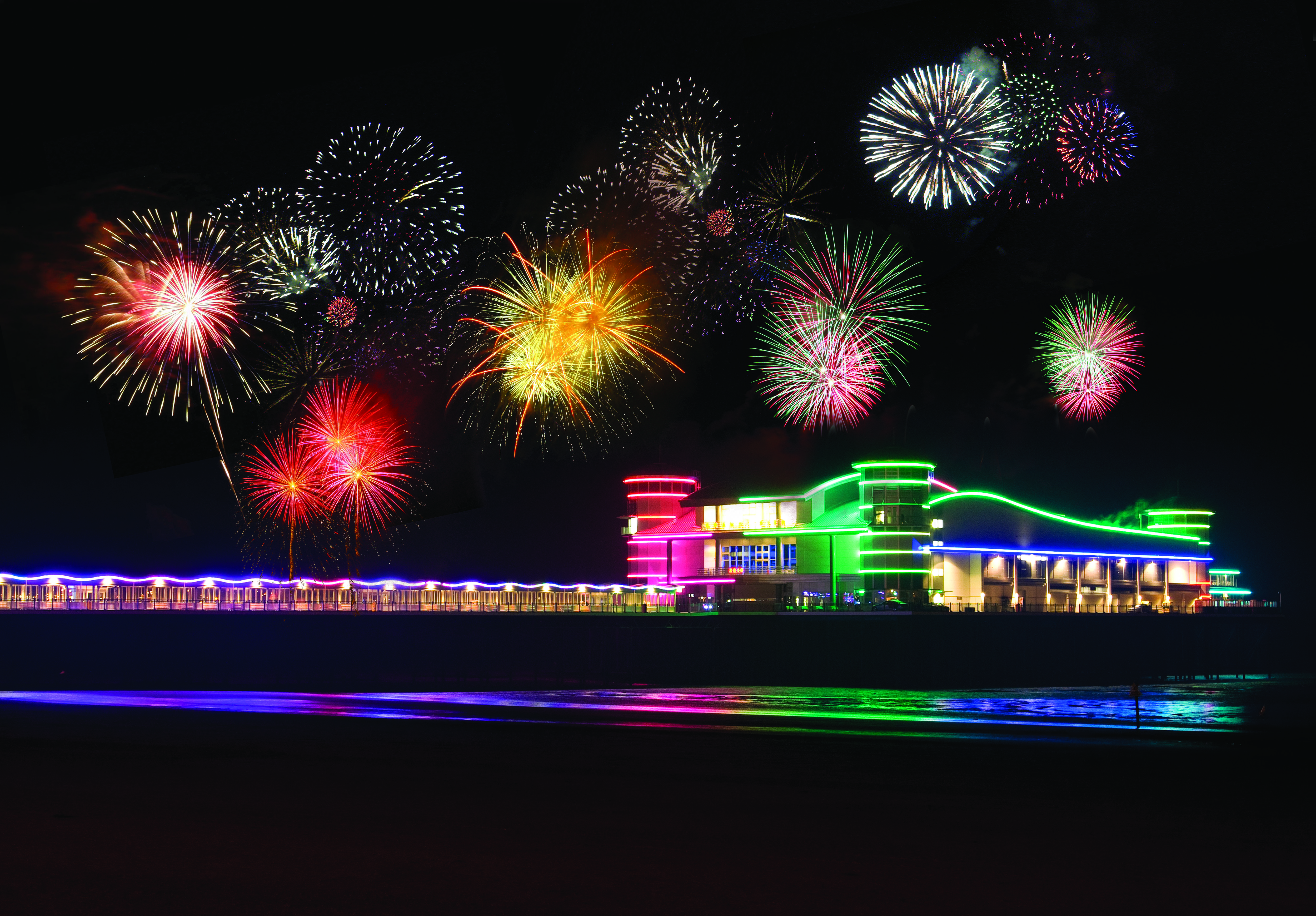 Grand Pier to Illuminate the Skies With Fireworks at Sea