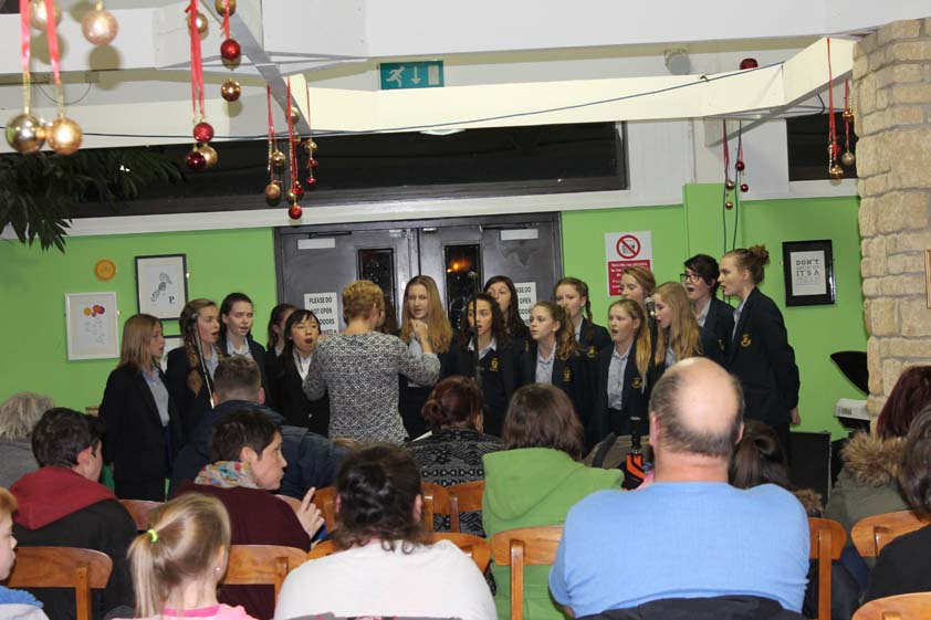 Sidcot choir