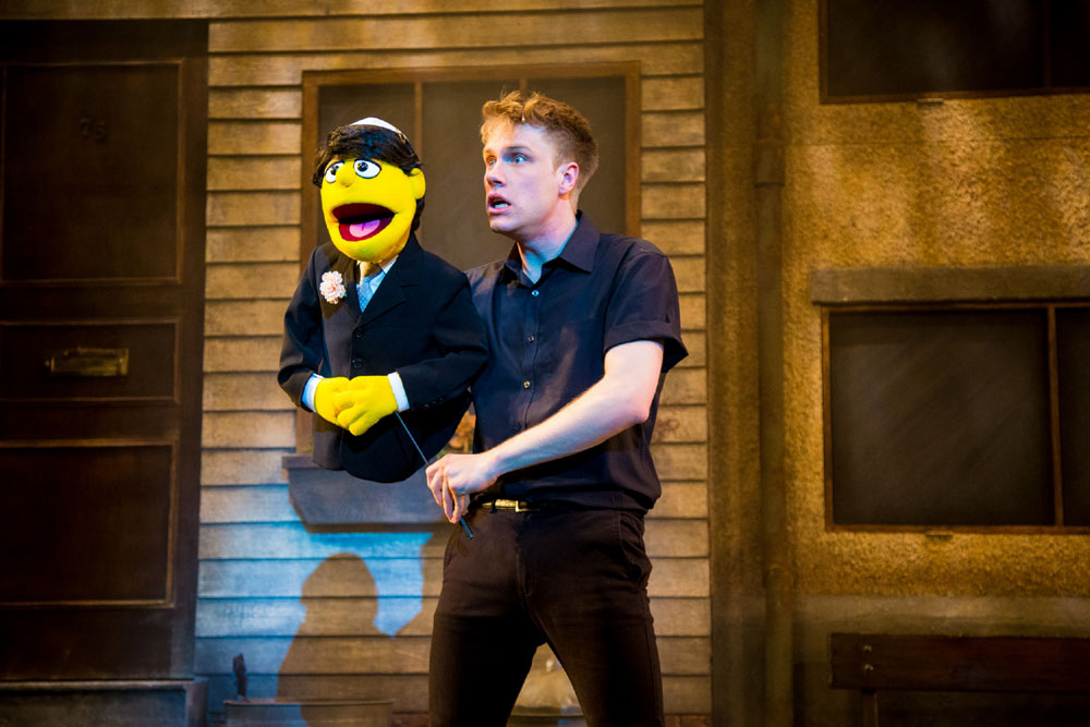 Richard Lowe as Princeton in Avenue Q