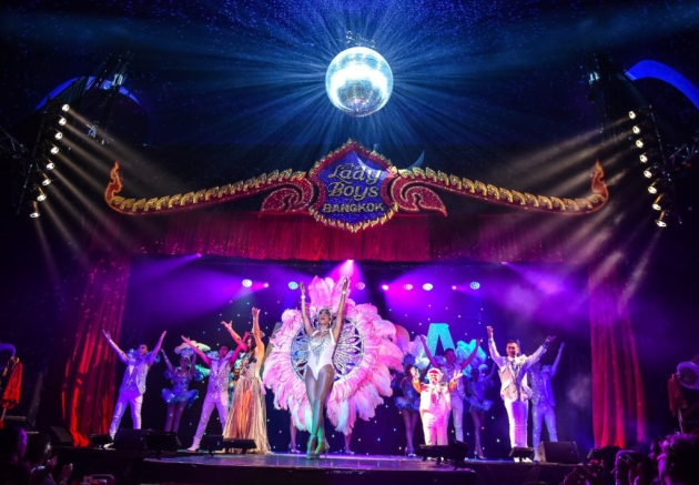 The Ladyboys of Bangkok at the Playhouse, Weston