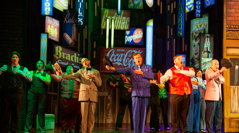 Guys and Dolls at The Playhouse, Weston